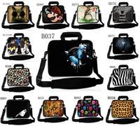 """Colorful Neoprene Laptop Shoulder Bag Case Sleeve+Handle Pocket For 14"""" 14.4"""" 14.5"""" 14.6"""" Dell Inspiron/HP Pavilion /sony"""