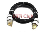 New Furutech Alpha PS-9 EUR Power Cable with Sonar 24K gold plated Power plug 1.5M DIY