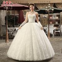 2014 wedding sweet fashion bride wedding exquisite rhinestone laciness sweet bride