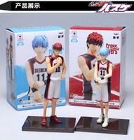 The basketball which kuroko plays Kuroko Tetsuya and Kagami Taiga  Fingure New In Box