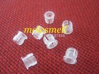 100pcs New 5mm White Plastic ABS LED Bezel Holder Panel Display Free Shipping