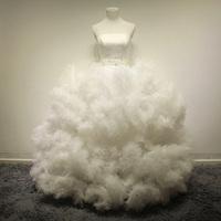 ultra- exclusive New Strapless tutu fantastic fashion T station domineering bride straps Qi wedding