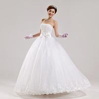 2014 new arrival wedding dress sweet princess bride dress Freeshipping