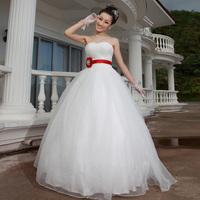 2014 New Design Urged sweet princess bride wedding dress Freeshippin