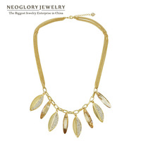 Neoglory  Crystal Rhinestone Chain Necklace for Women Jewelry Accessories 2014 Spring Fashion Gift