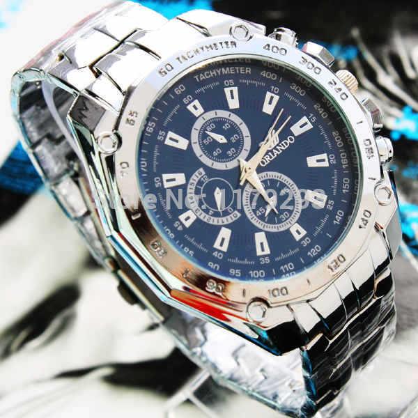 Best Seller Designer Men Watch Luxury Steel With Tachymeter Function JK-237(China (Mainland))