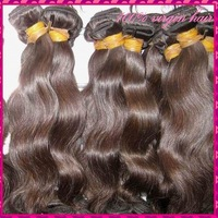 "Hot seller! 7A WestKiss Virgin Cambodian more wavy hair best  Mixed (18"",20"",22"") 3pcs/lot ,can be bleached,fast process"
