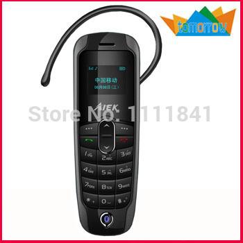 Hang Ear Type Mini Mobile Phone Bluetooth Earphone Bluetooth Dialer Function Phone(China (Mainland))
