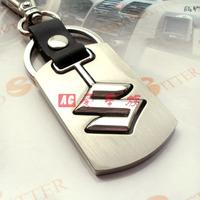 Free shipping 4 s shop customized gifts/suzuki swift car key chain/new metal alloy logo key chain Christmas