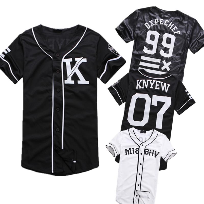 Women baseball style jersey shirt for Baseball jersey shirt dress