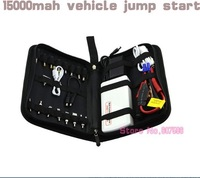 Hot sale 15000mAH 2014 Car Jump Starter Car Emergency Power Bank Mobile phone Laptop Rechargeable Battery Charger