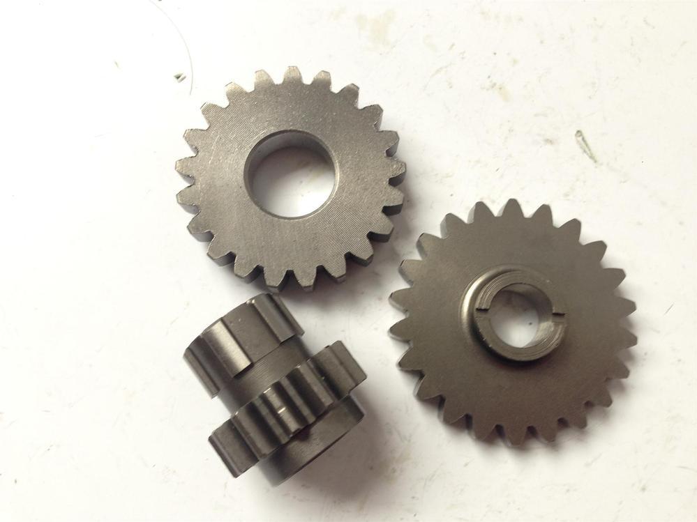 Original Lifan LF 140 engines starting driven gear teeth and idler gear Lifan engine parts(China (Mainland))