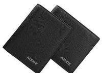 Genuine Leather Wallet brand Cowhide men Purse  Short Design Carteira Card Holder A Drop Shipping