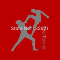 High Quality MMA Muay Thai Boxing muaythai 100% Cotton Printed Casual Fashion Sport T-shirt Tee Dress Camiseta Cloth