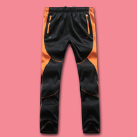 Men elastic water professional patchwork quick-drying pants quick dry pants spring and autumn