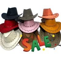 Cowboy hat male women's general hat cowboy hat