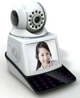 Network Phone Camera Alarm System with built-in Night Vision Camera  24Hours Surveillance