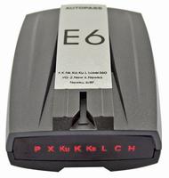 E6 Car Radar Detector Russian English With LED Display Free Drop shipping, 1pcs
