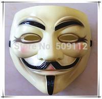 V vendetta team guy fawkes masquerade Halloween carnival Mask 35pcs/lot  Free shipping for Epacket