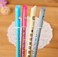 Promotional gifts South Korea stationery Roller pen Lovely color Neutral pen Ball-point pen 260PC/LOT Wholesale Free Shipping