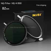 NiSi 82mm Ultra Thin Variable Multi Coated ND4-ND500 ND4-500 ND 4-500 Neutral Density Filter 82 mm for Canon Nikon Sony Sigma