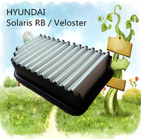 A9614 low price wholesale white fiber car air filter for Hyundai 281131R100 auto part 25.5*14.3*5.4CM C25016
