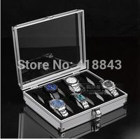 High-grade aluminum case 12 watch box watch storage box watch storage case