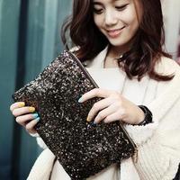 New Dazzling Glitter Sparkling Bling Sequins Evening Party purse Bag Handbag Women Clutch wallet bolsa feminina bolso sacs saco