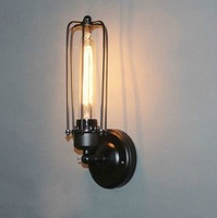 Free shipping oft industrial pipe wall retro cafe bar creative personality Edison nostalgia wall lights