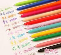 NEW 12 Colors Cute Kawaii Korean Gel pen Set Colorful Stationery Office & School Supplies Creative Gift 360PCS/LOT Free shipping