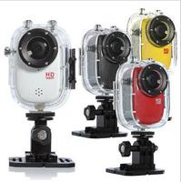 HD 1080p Portable Sports 30M Waterproof Camera Video Camera Full HD DVR SJ1000 Action Camera