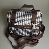 EU SALES Modern Fashion Style Universal Camera Lens Bag with Shoulder Strap For DSLR Digital Camera