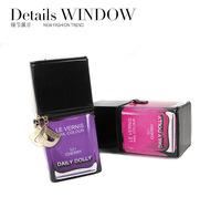 Wholesale 5pcs/lot Daily Dolly Women Handbag Nail polish Bottle Modeling Shoulder Bag Fashion Comestic Makeup Bag storage bag