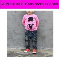 Cartoon shirt long sleeve children kid apparel