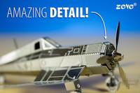 Wholesale 48 pcs Metal Works DIY 3D Laser Models / Assemble Miniature Metal 3D Model