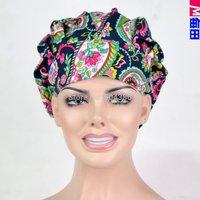Matin brand  long hair surgical bouffant cap for women use