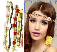 2014 Hot Sale Fashion Free shipping 20pcs/lot beautiful Bride flower headbands