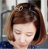 2014 Hot Sale Fashion Free shipping 6pcs/lot rabbit ear hair bands for girls