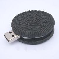 New Black Chocolate Oreo cookies Model Plastic 64GB 128GB 256GB 2.0 usb drive memory flash stick pen disk 1GB/4GB/8GB/16GB/32GB