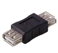 NEW Details about  USB Gender Changer A Female To Female Adapter Converor Changer FREE SHIPPING