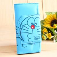 2014 cool money clip doraemon Cartoon Wallet Lovely Purse wallets & holders Cute Wallets for Women PU Bags Dropshipping