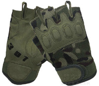 summer wargame Camping military paratrooper army fighting wrestle half finger outdoor sports gloves mittens mitts