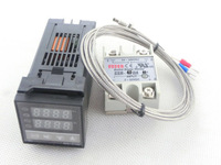 C100FK02-M*AN 240V Digital PID Temperature Controller max.40A SSR40DA K Thermocouple Probe