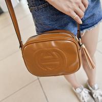 Trend 2014 Retro Vintage Tassel Faux Leather Women Messenger bag Shoulder Crossbody Bag Brand Small Lambskin Bag Megga item