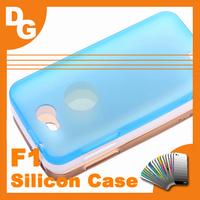 10 pcs/lot 100% Original Soft Silicon Protective Case For JIAYU F1 MT6572 1.3Ghz 800x480 Mobile Phone