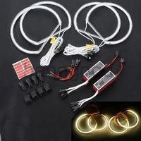 CCFL Angel Eyes / Halo Ring Halo Light 4 x131MM White For BMW E46 / E39 / E36 , Angel Eyes Inverters LP13035