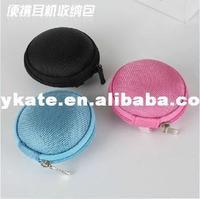 earphone bag portable Anti-pressure small headphone bag digital pouch