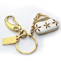 AJ7 Mini Fashion Women Bags Key Chain Model 1GB 4GB 8GB 16GB 32GB 2.0 USB Flash Memory Pen Drive Stick Gift Free shipping