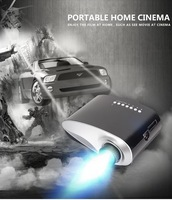2014 Newest Mini Pico portable proyector Projector AV VGA A/V USB & SD with VGA HDMI Projector projetor beamer Wholesale