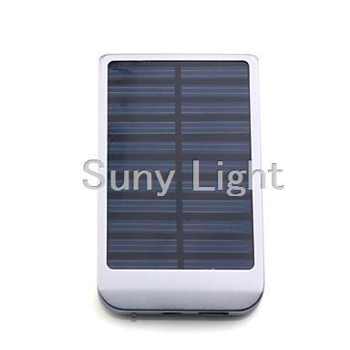 Portable USB Solar Panel Charger External Battery for iPhone 4/3G/3GS/, Smartphone and More(China (Mainland))